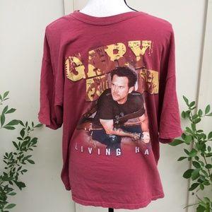 Concert Shirt Sz XL Gray Allan Men T-Shirt